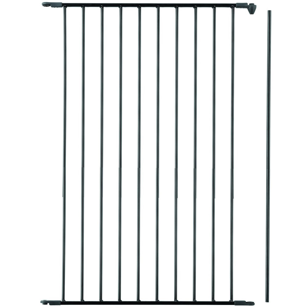 BabyDan Flex Gate Tall Extension- Black 28""