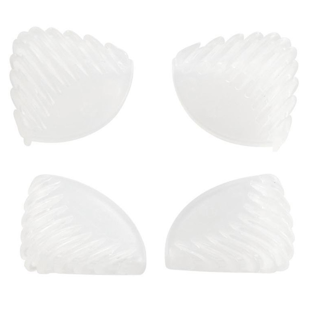BabyDan Safety Soft Corner Protectors - White (4 pack)