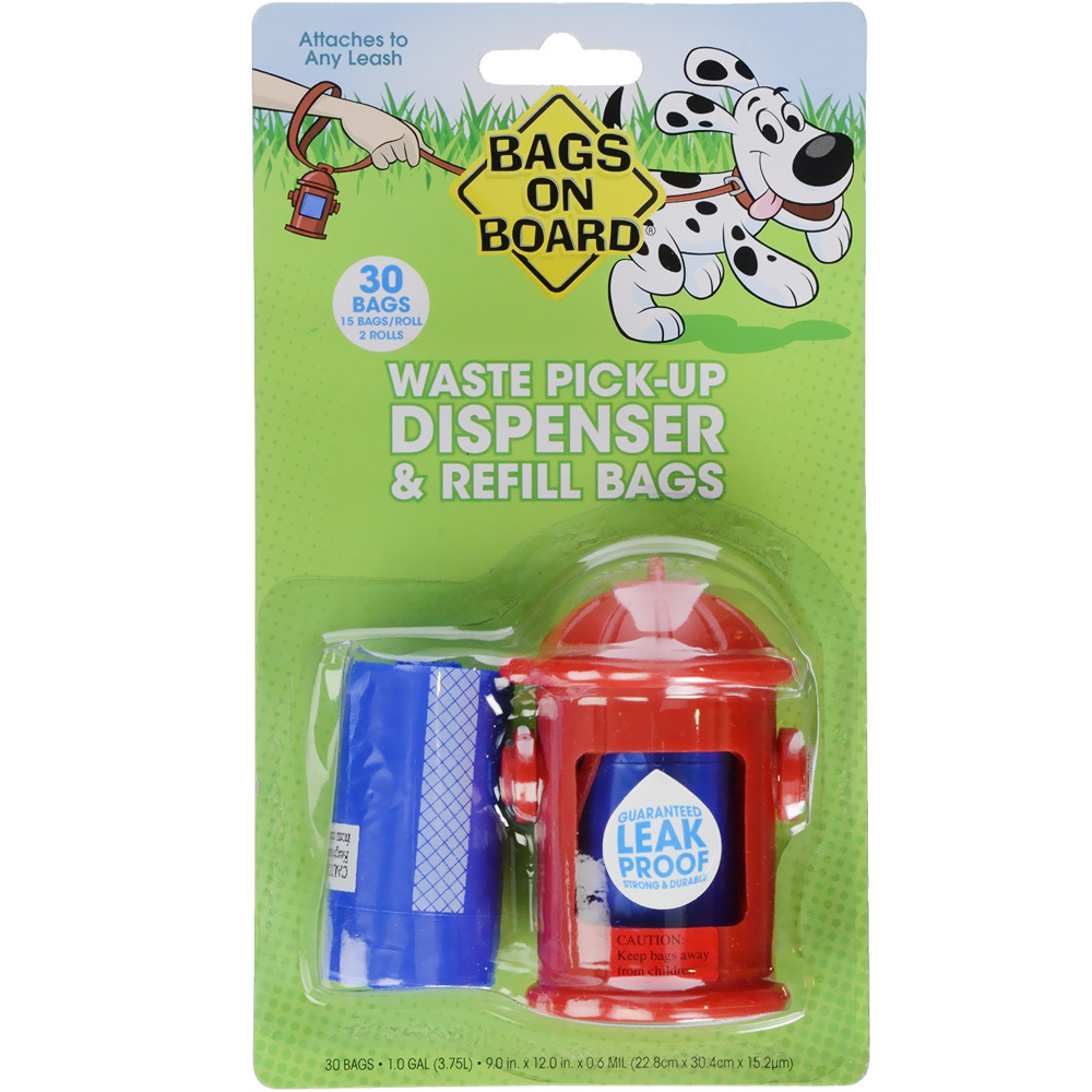 Bags on Board Fire Hydrant Dispenser Pack