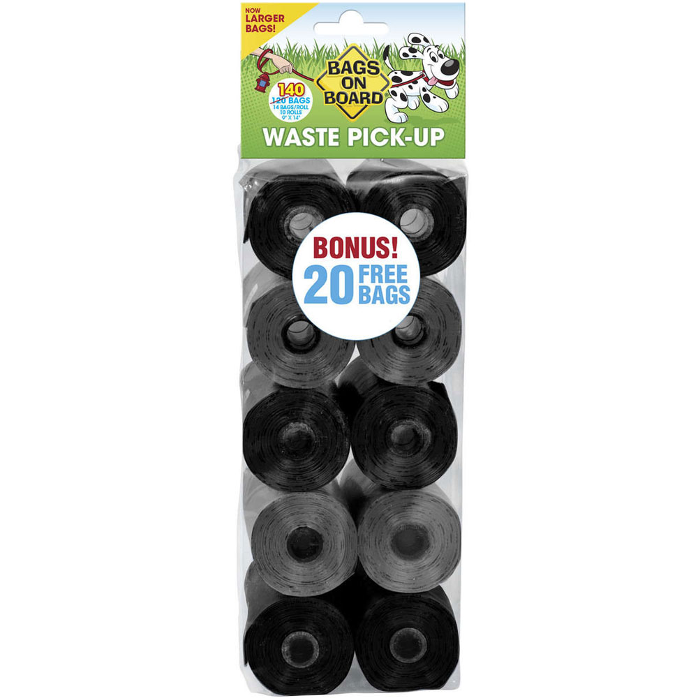 Bags on Board Refill - Black & Gray Bags (120 count)