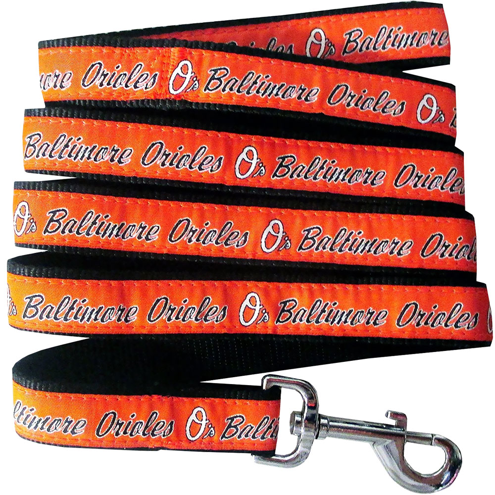 Baltimore Orioles Dog Leash - Ribbon