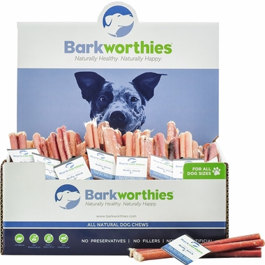 barkworthies odor free bully stick double cut 6. Black Bedroom Furniture Sets. Home Design Ideas