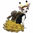 Bee Mine Dog Costume Yellow - LARGE