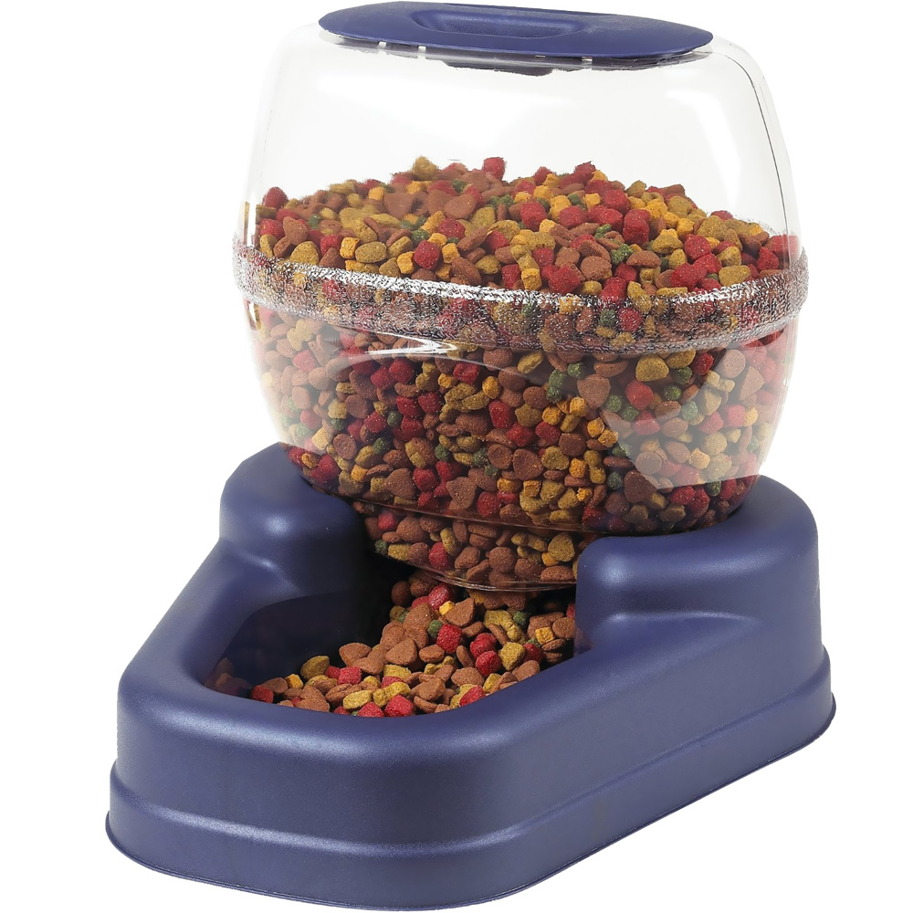 "Bergan Elite Gourmet Pet Feeder - Large Blue (16.63"" x 15.25"" x 14.25"")"