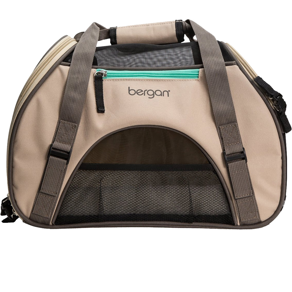 "Bergan Pet Comfort Carrier - Large Taupe (19"" x 10"" x 13"")"