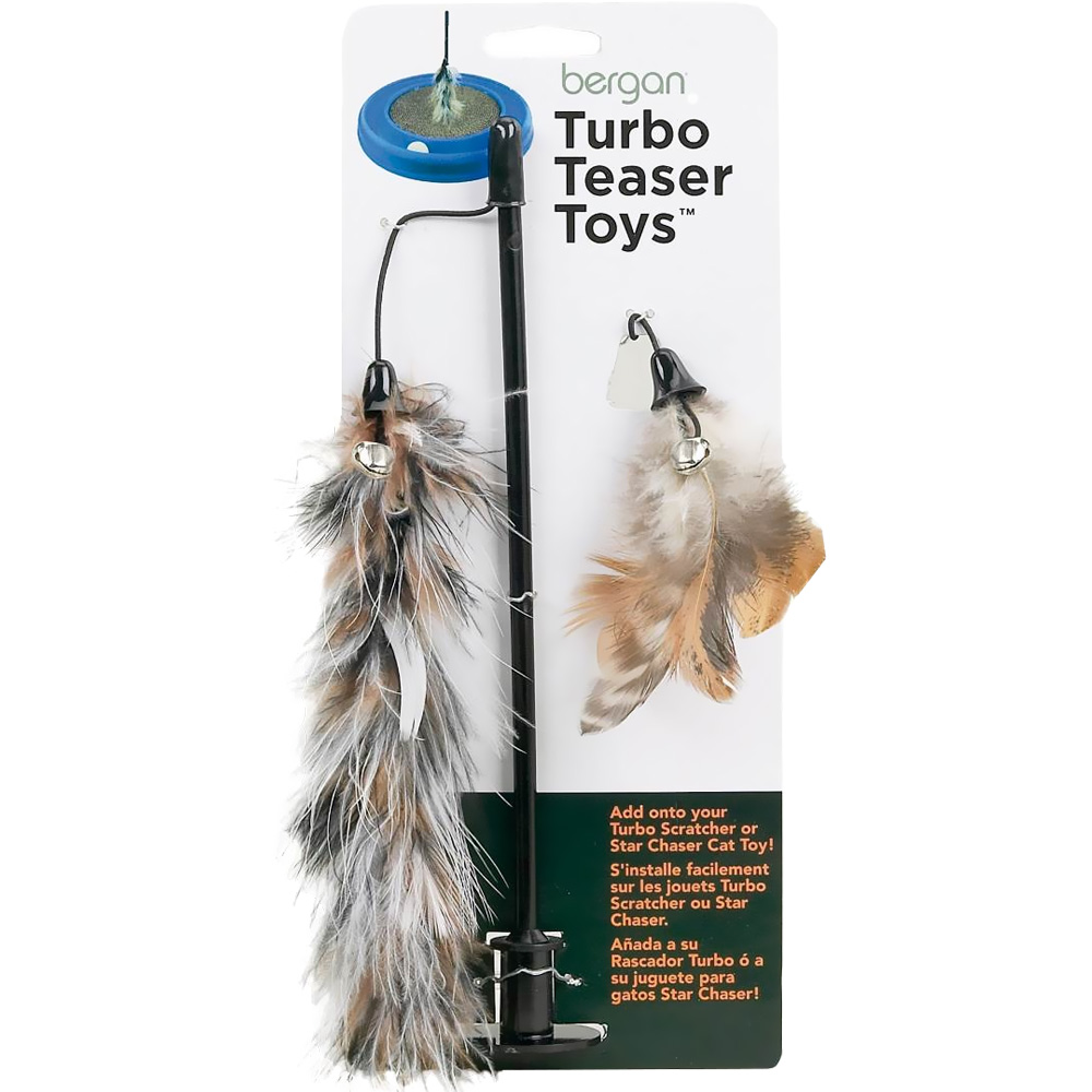 Bergan Turbo Cat Teaser Toy