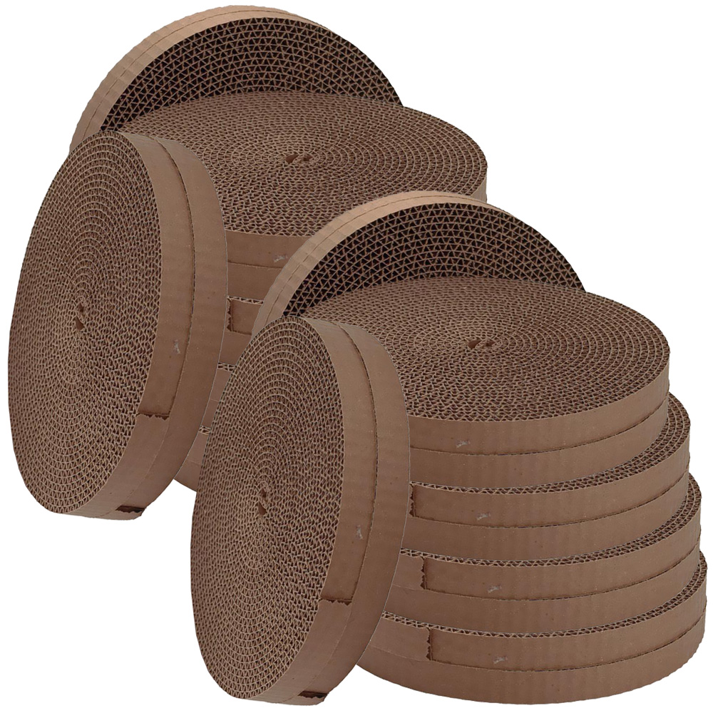 Bergan Turbo Scratcher Replacement Pads (12-Pack)