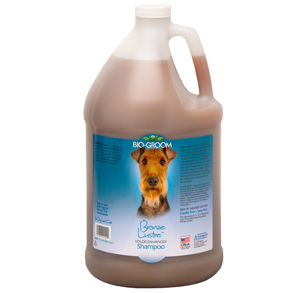 Bio-Groom Bronze Lustre Shampoo (1 Gallon)