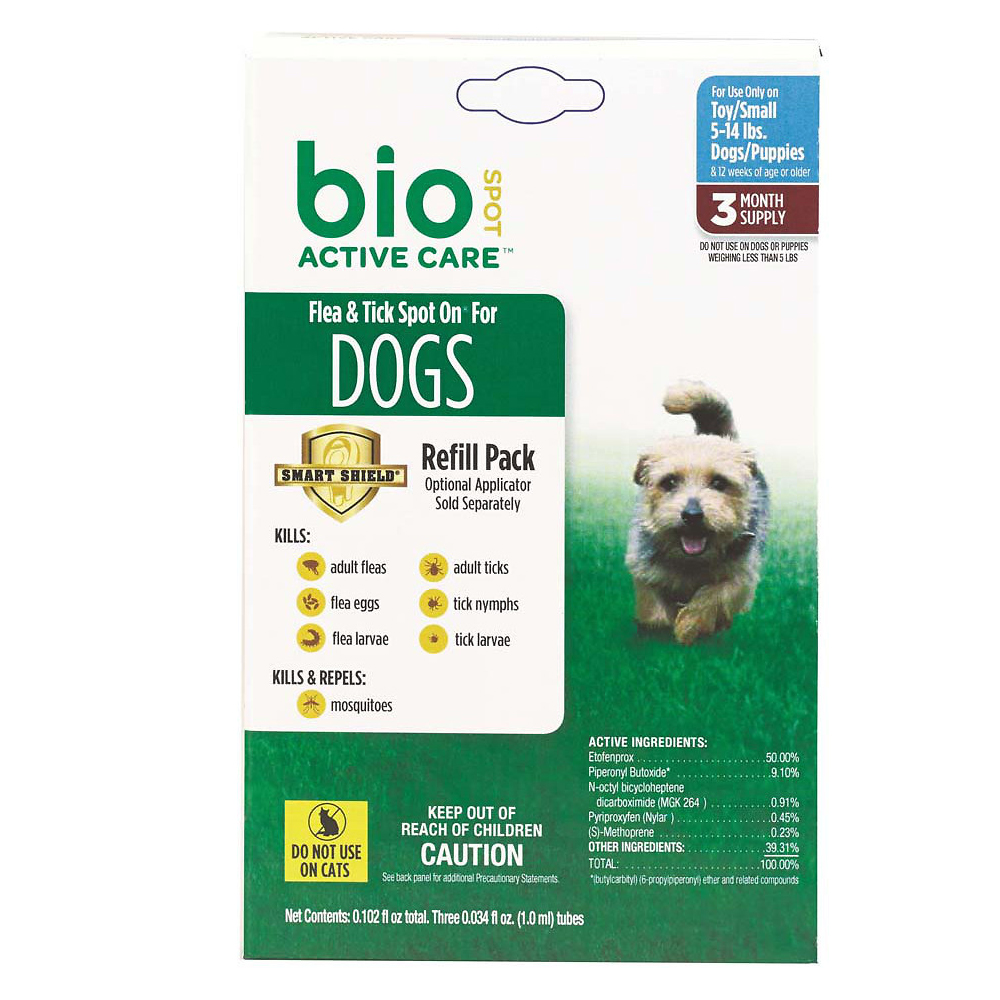 Bio Spot Flea Tick On Refill Small