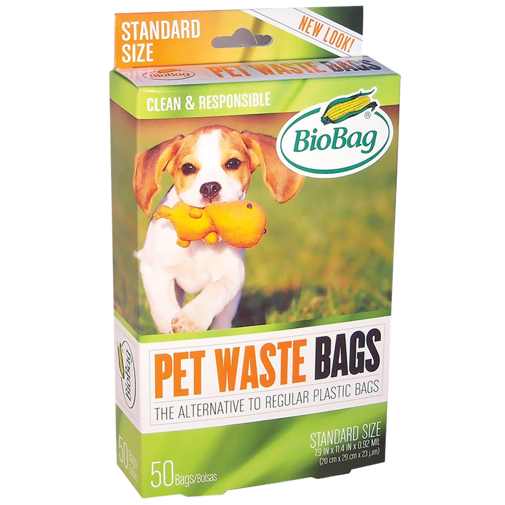 biobag dog waste bags 50 ct - Dog Waste Bags
