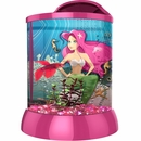 "BioBubble 3D Background for AquaTerra 2 - Gallon Pink (9"" x 9"" x 12"")"