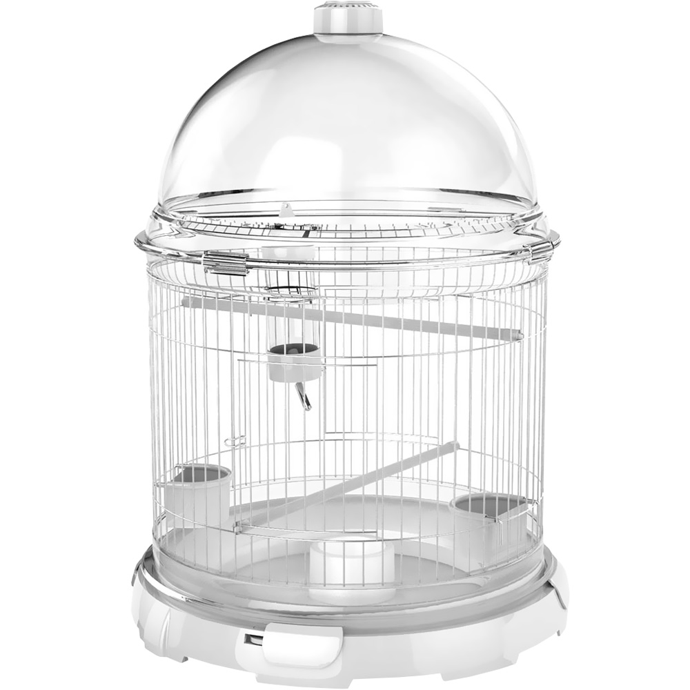 "BioBubble Bird Bundle Habitat White (16"" x 16"" x 21.5"")"