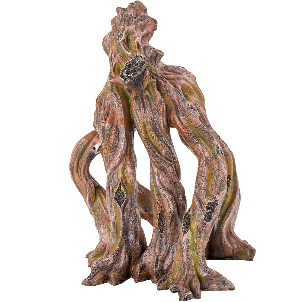 "BioBubble Decorative Ficus Roots Verticle (8.75"" x 8.25"" x 12"")"
