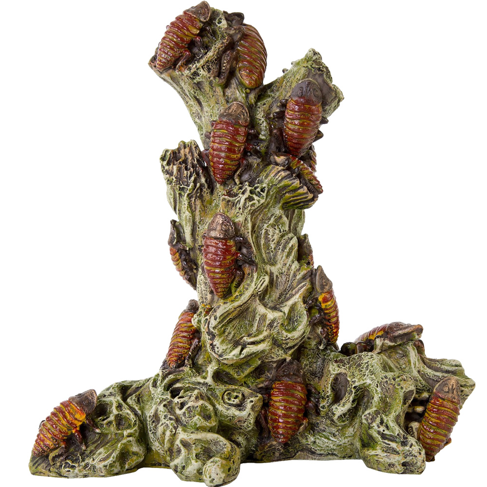 "BioBubble Decorative Madagascar Roach Tower (6.5"" x 5.25"" x 7.5"")"