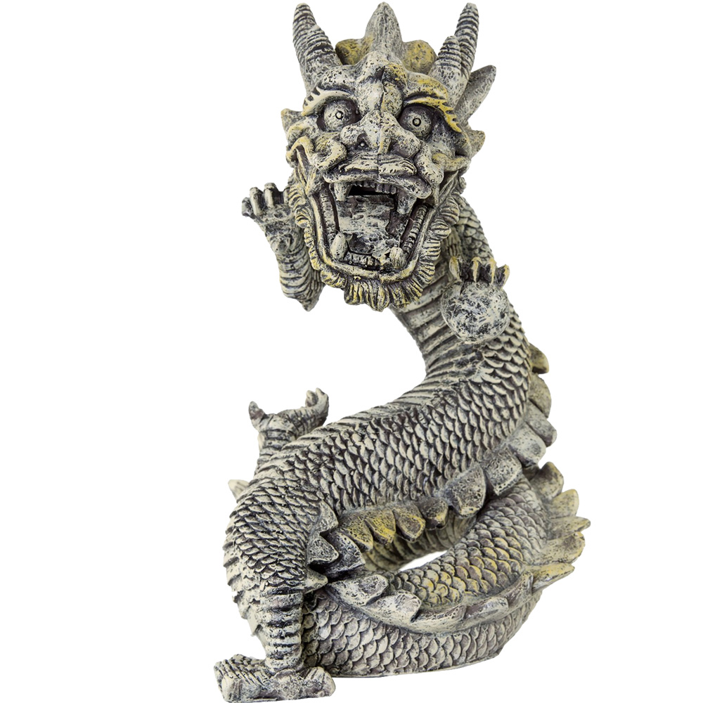 "BioBubble Decorative Stone Dragon - Large (11.5"" x 7"" x 11.75"")"