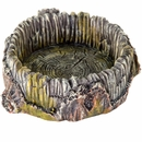 "BioBubble Decorative Stump Bowl - Small (5"" x 4"" x 9"")"