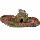 "BioBubble Decorative Sunken Tugboat 12.5"" x (4.25"" x 2.75"")"