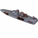 "BioBubble Decorative Sunken U-Boat (15"" x 3"" x 4"")"
