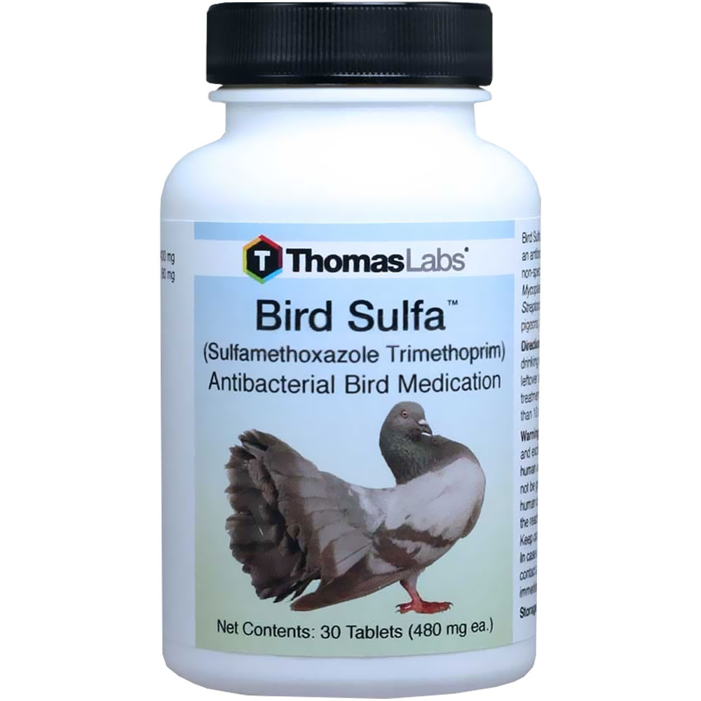 Bird Sulfa (Sulfamethoxazole Trimethoprin) - 30 Tablets