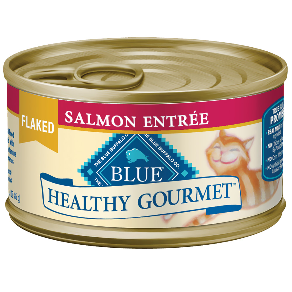 Blue Buffalo Healthy Gourmet Flaked Salmon Entree for Cats - (24 pack) 3oz