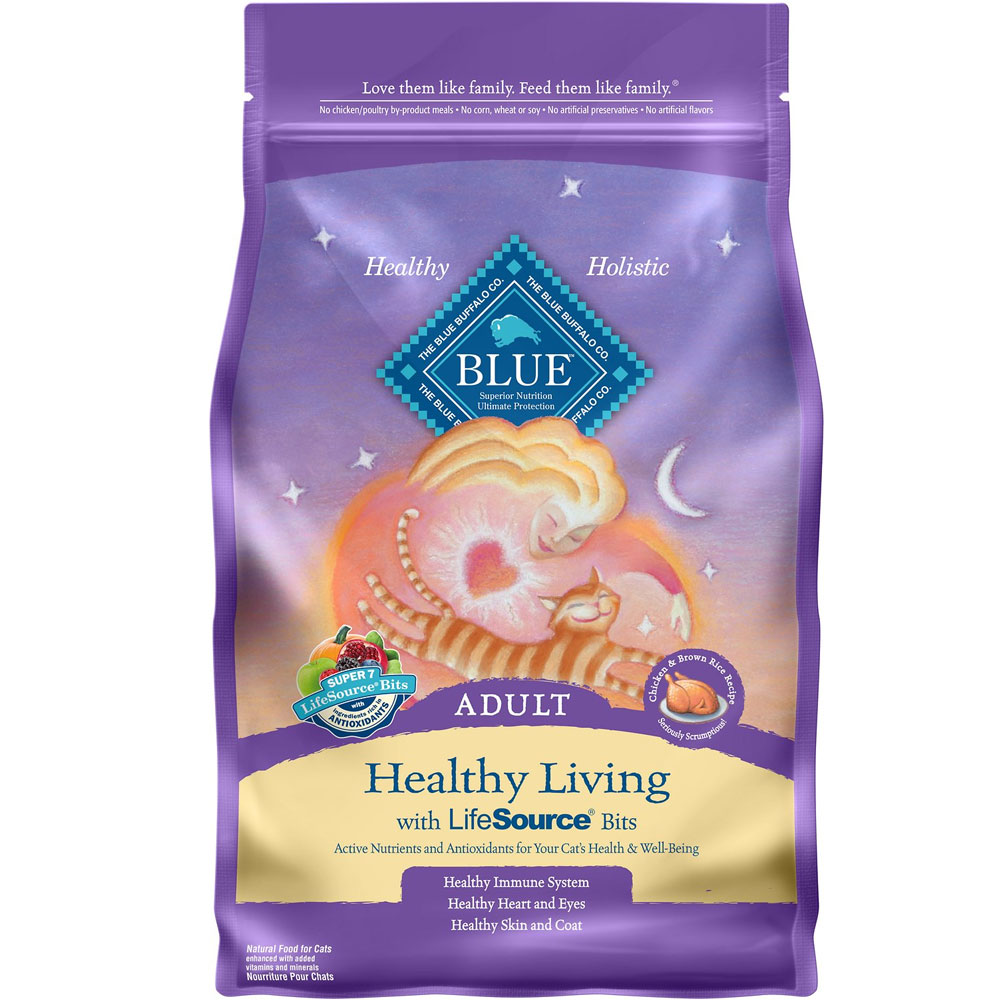 Blue Buffalo Healthy Living Chicken & Brown Rice Recipe for Cats (7 lb) im test