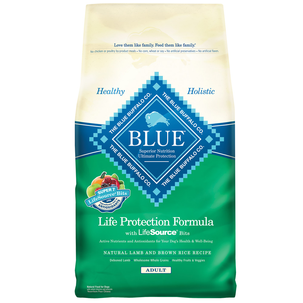 Blue Buffalo Dry Dog Food Lamb And Rice Recipe