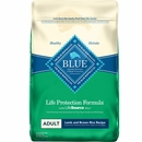 Blue Buffalo Lamb & Brown Rice Recipe for Adult Dogs - 15lb