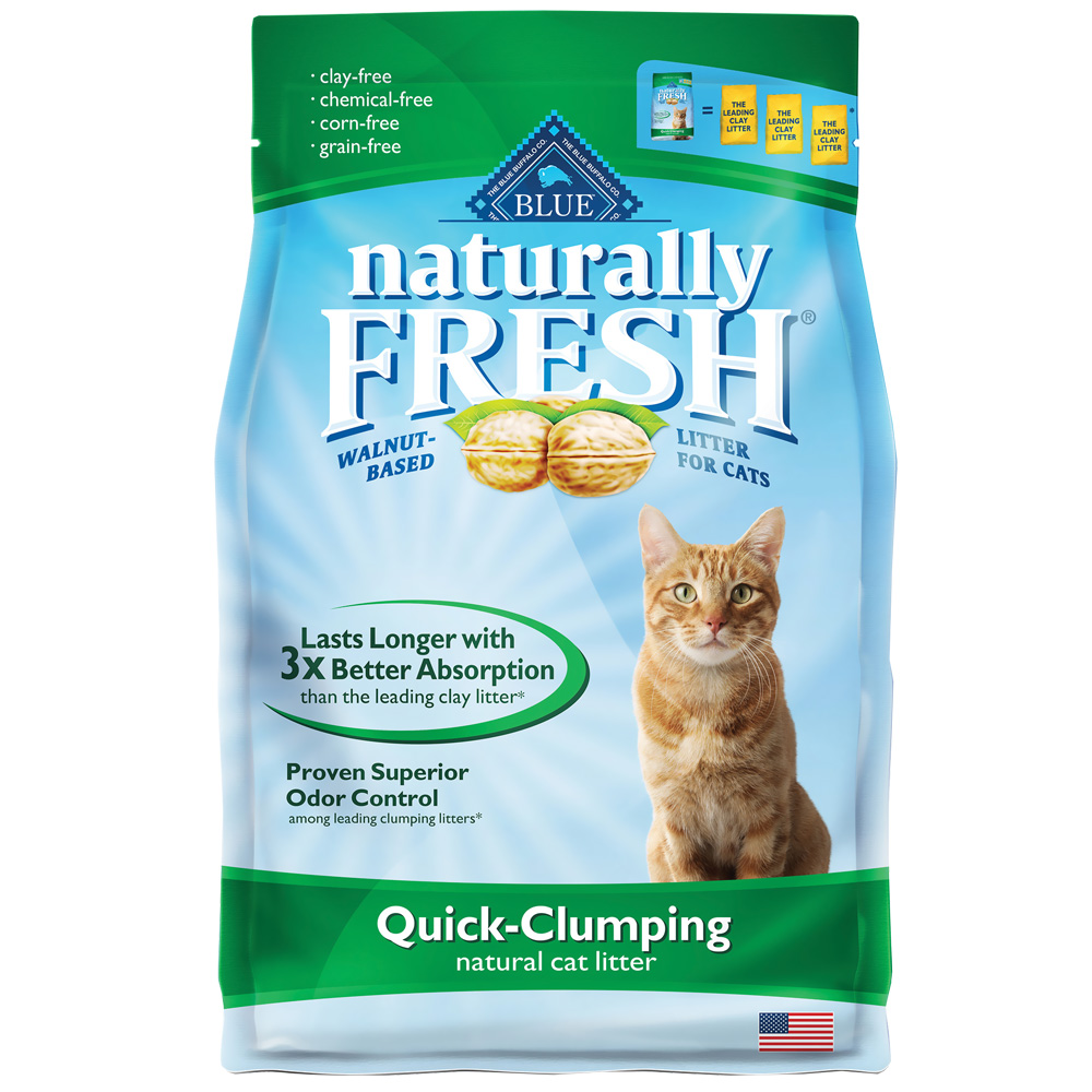 Blue Buffalo Naturally Fresh Clumping Litter (14 lb)