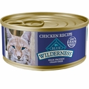 Blue Buffalo Wilderness Chicken Canned Cat Food (24x5.5 oz)