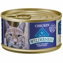 Blue Buffalo Wilderness Grain for Cats - Free Chicken Recipe for Cats - (24 pack) 3oz