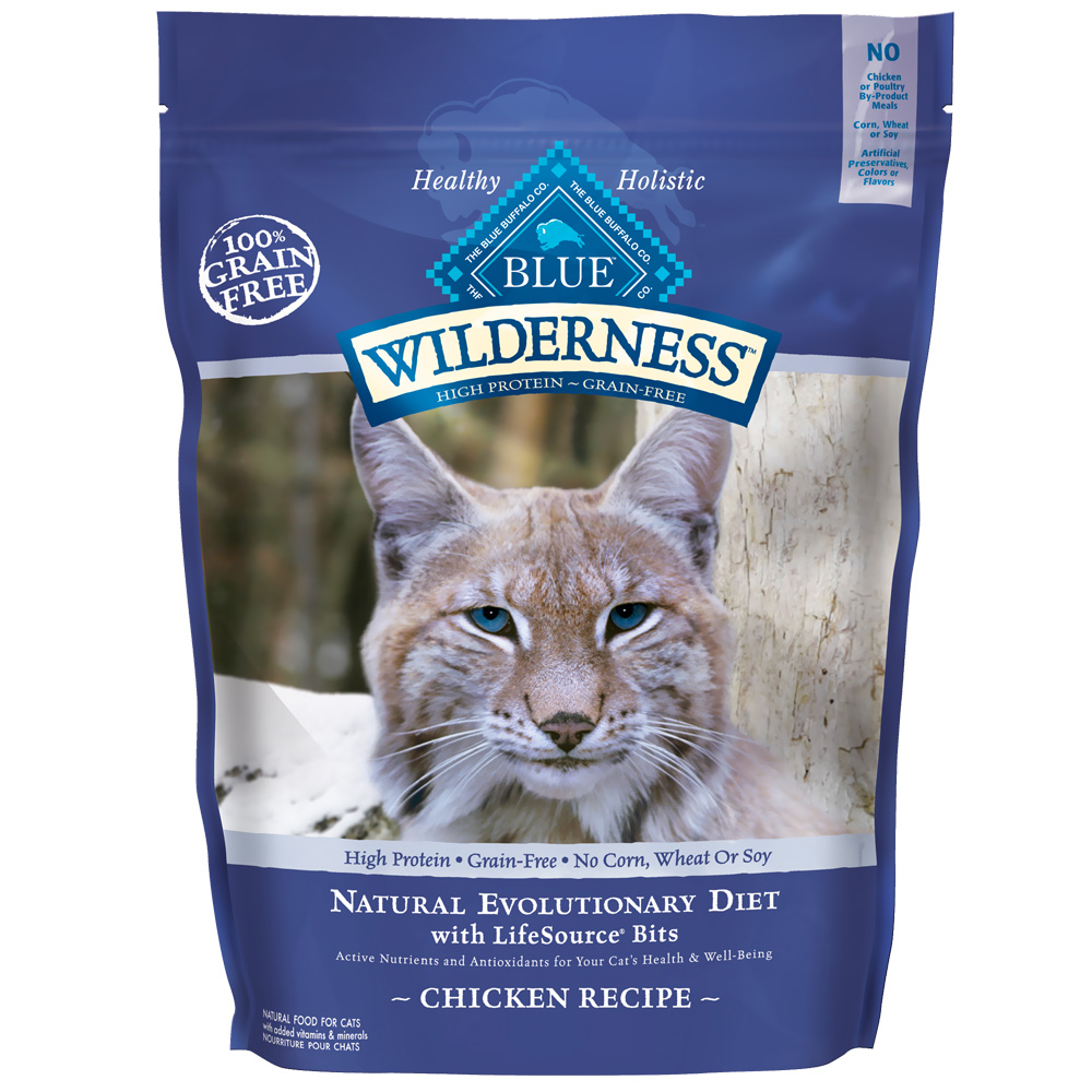 Blue Buffalo Wilderness Grain Free Dry Cat Food