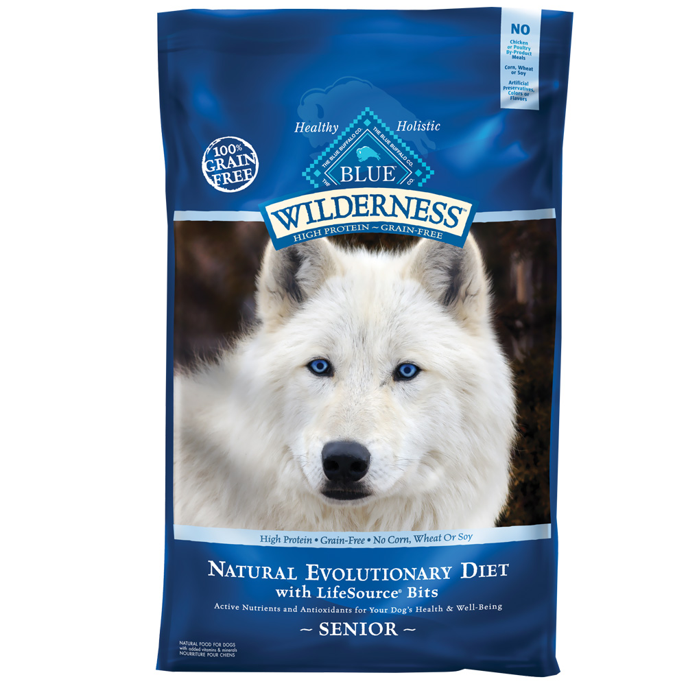 Blue Buffalo Wilderness Senior Chicken (24 lb)