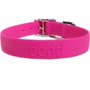 Bond Dog Collar Raspberry  - Medium