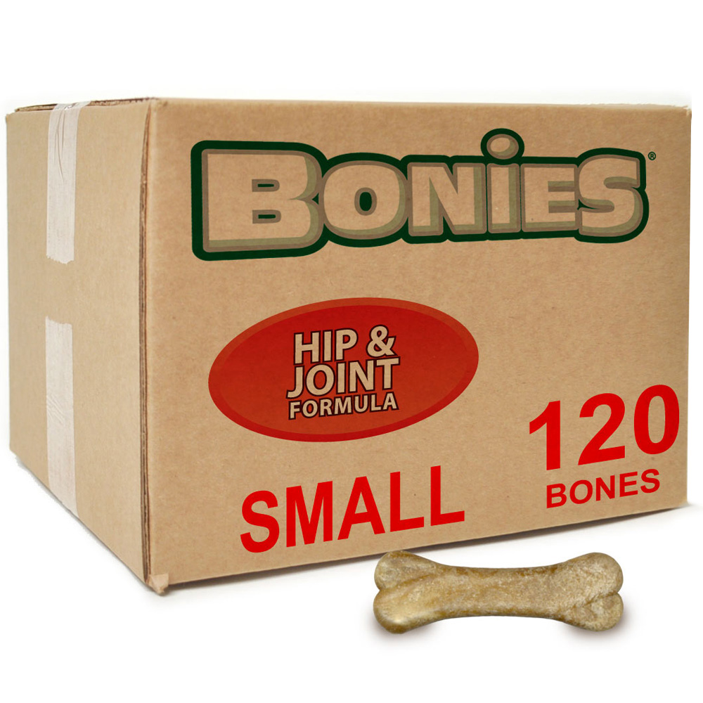 BONIES Hip & Joint Health BULK BOX SMALL (120 Bones)