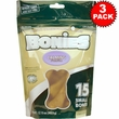 BONIES Natural Calming Formula Multi-Pack SMALL 3-PACK (45 Bones)