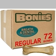 BONIES Natural Dental Health BULK BOX LARGE (72 Bones)