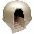 LIQUIDATED 12-7-16 - Booda Dome Step Cat Litter Box Titanium