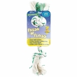 Booda Fresh N Floss 3 Knot Tug Bone Large - Spearmint