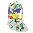 Booda Fresh N Floss 3 Knot Tug Bone Medium - Spearmint