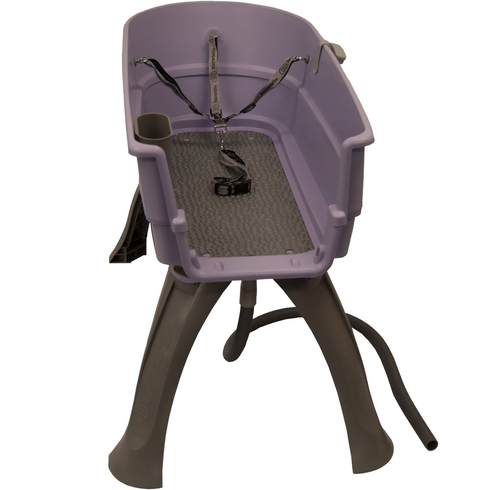 "Booster Bath Elevated Pet Bathing Large - Lilac (45"" x 21.25"" x 15"")"