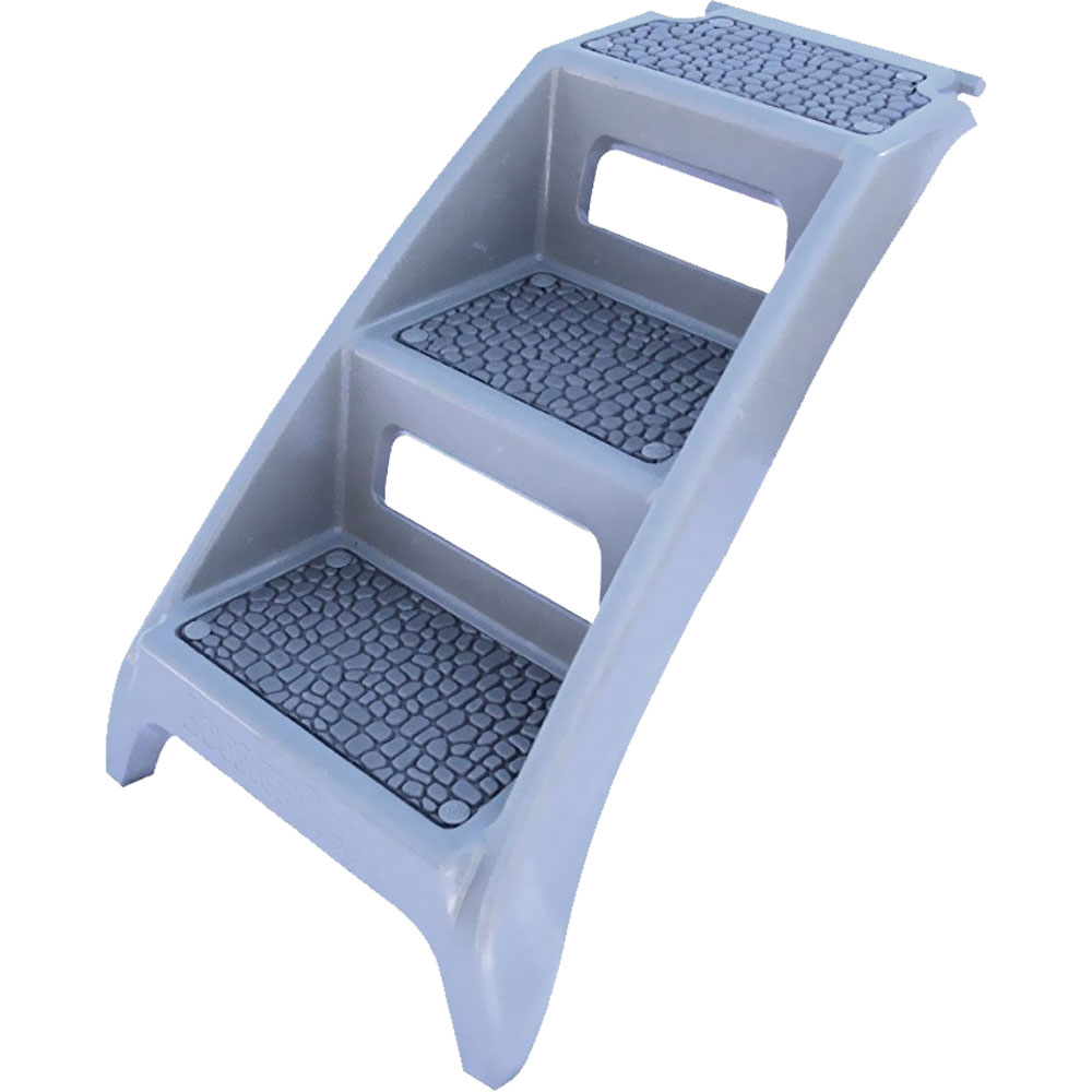 "Booster Bath Step Grey (19"" x 6"" x 34"")"