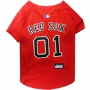 Boston Red Sox Dog Jerseys