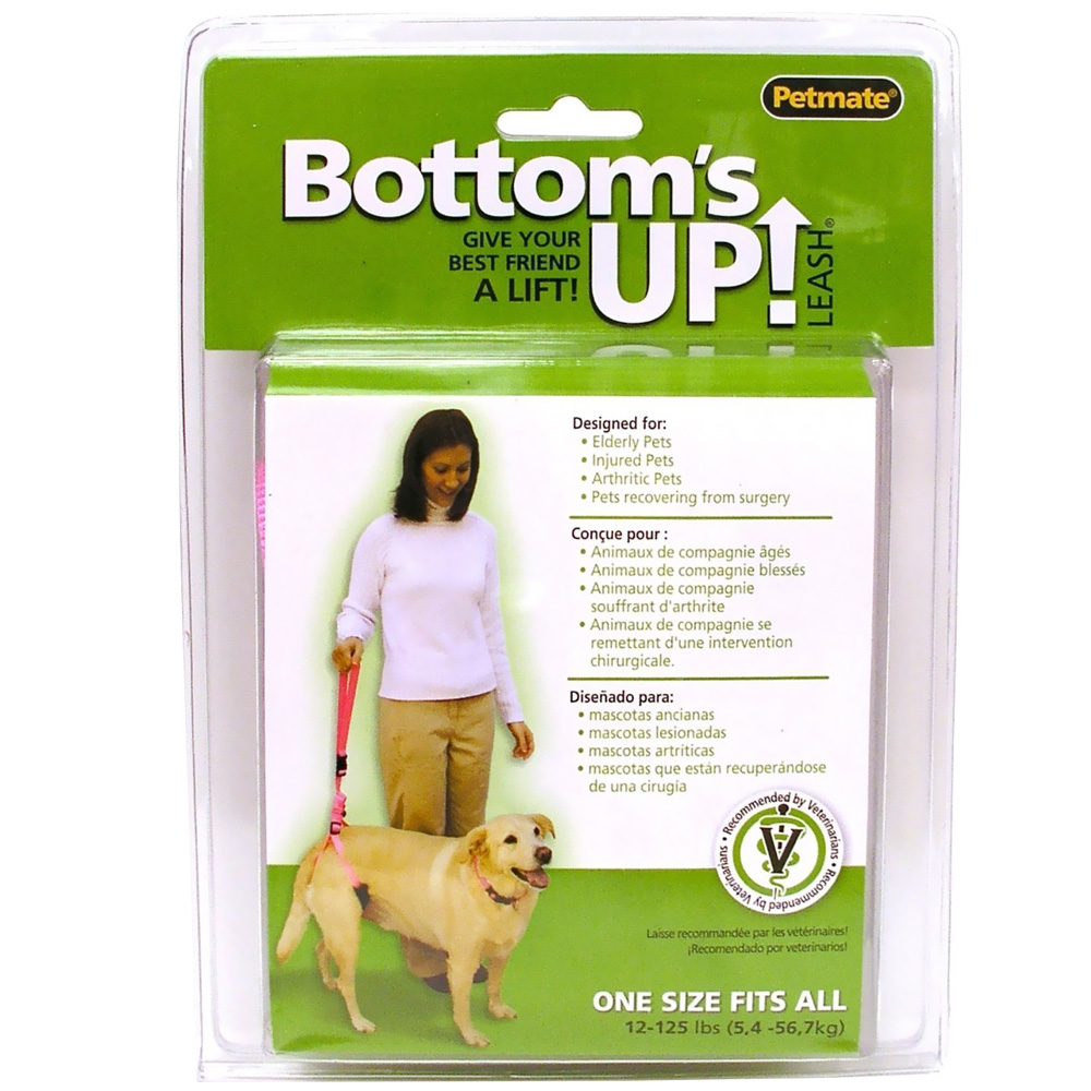 Bottom's Up Leash - PINK