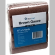 "Brown Gauze Roll Non-Sterile (6""x5yds) - 12 pack"