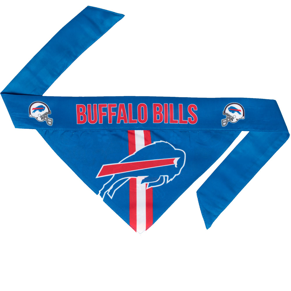 Buffalo Bills Dog Bandana - Tie On (Small)
