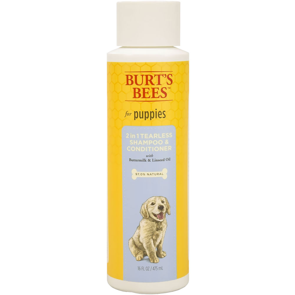 Burt's Bees 2 in 1 Tearless Shampoo & Conditioner for Puppies (16 fl oz)