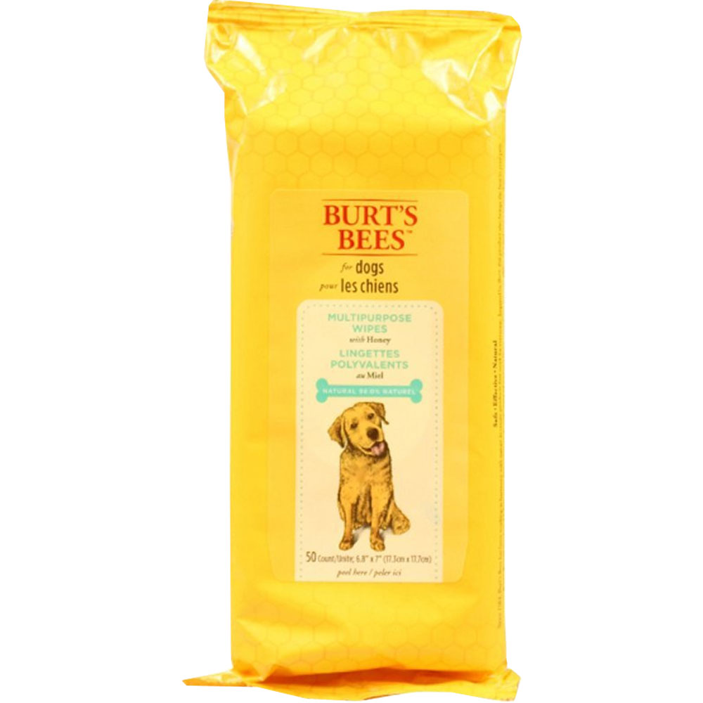 Burt's Bees Multipurpose Wipes for Dogs (50 count)