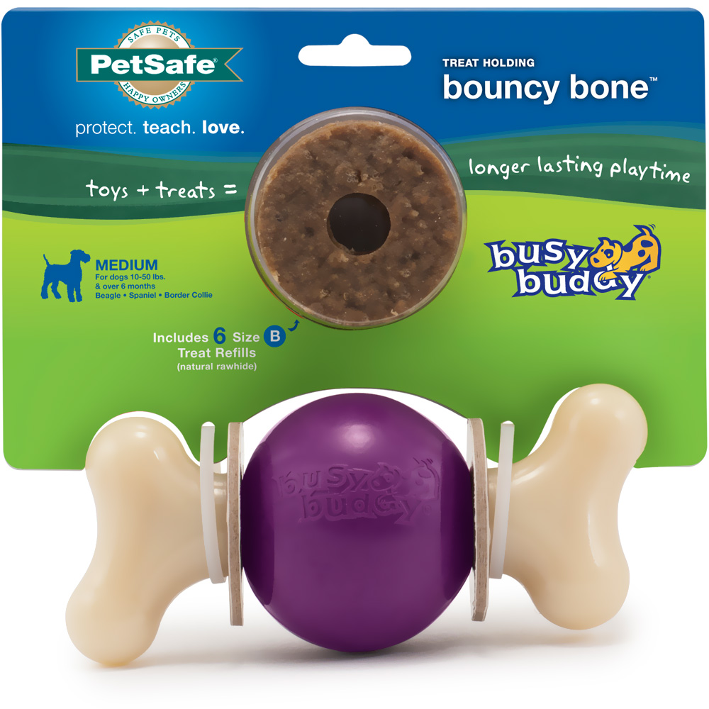 Busy Buddy Bouncy Bone - Medium