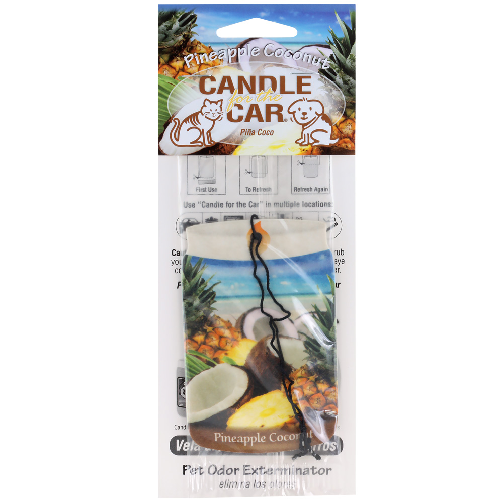 Candle for the Car - Pineapple Coconut