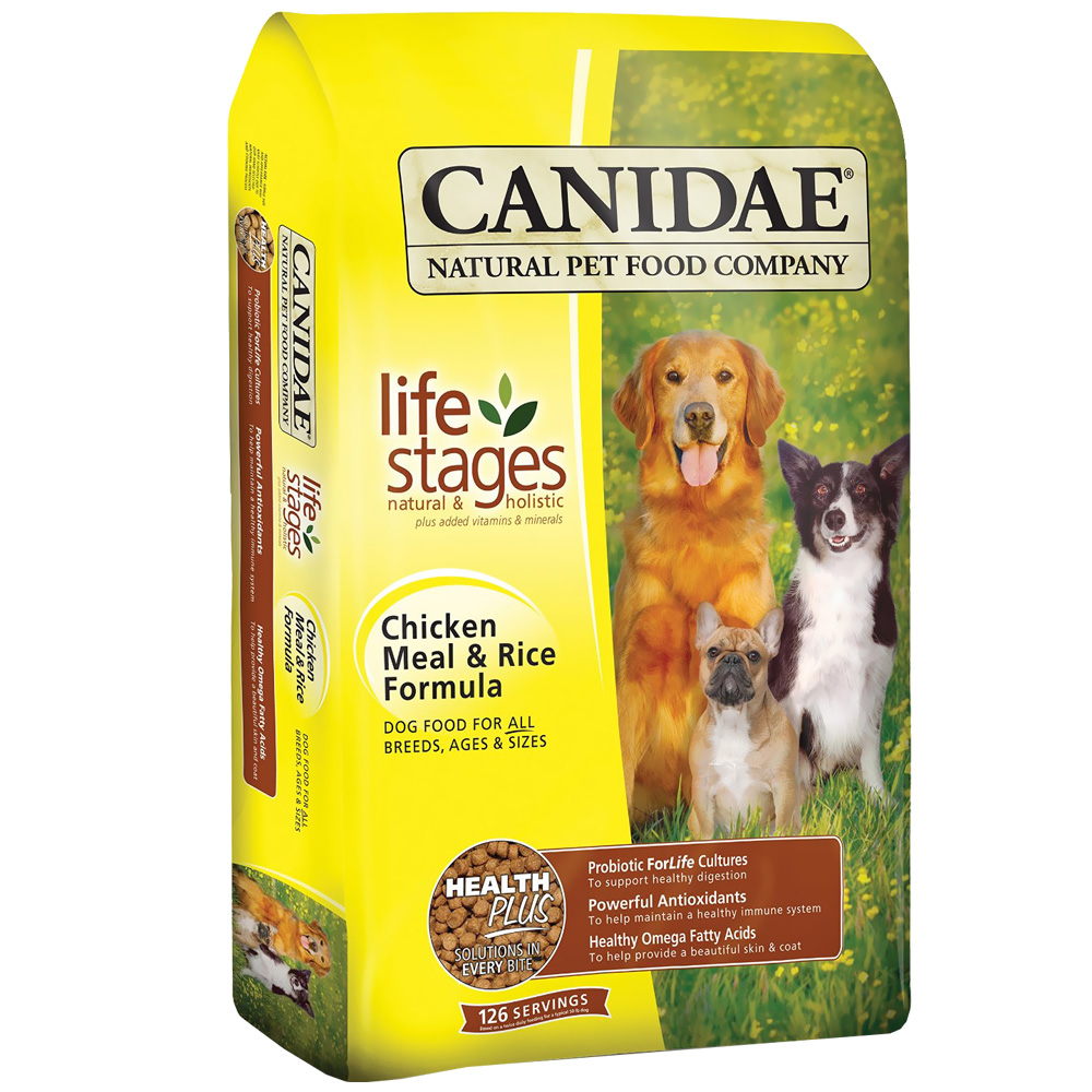 Canidae Chicken & Rice Dog Food (30 lb)
